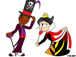 Disney Villain Costumes - Mike and Karla by JIMENOPOLIX