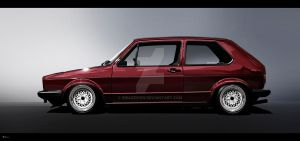 VW golf 1 vexel v2 by RibaDesign