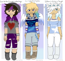 [Adoptables] CLOSED- Song Batch #2 - (3/3 taken) by mansa1212