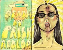 death by prismacolor by unclepatrick