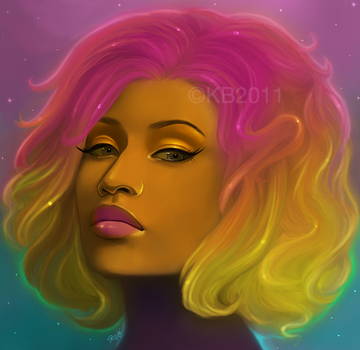 Nicki Minaj by greendesire