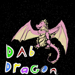 The Dab Dragon by Amethyst-Wyrm