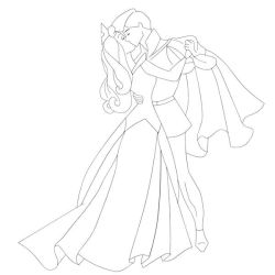 Line art for lavendermagic84 by COURTJ3ST3R