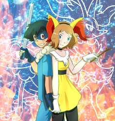 Amourshipping Cosplay by DragonFG28