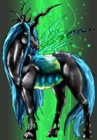 My little Pony Queen Chrysalis by Fachhillis