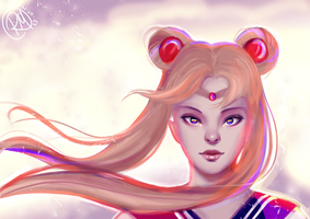 Sailor Moon - Usagi by duhrou
