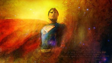 My Tom Welling Superman Manip by TW1977