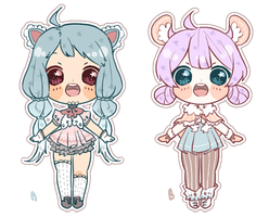 Pastel Cheeb Adoptables - OPEN by MayonnaiseBottle
