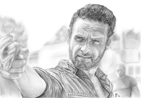 Rick Grimes (Andrew Lincoln) by shezzor