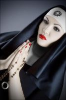 Industrial Madonna by luciekout
