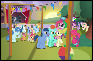 Super Duper Party Ponys by Assarak
