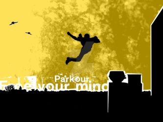 parkour by kikkemittim
