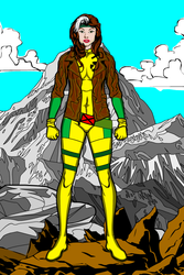 Rogue - X-Men by MetalHarbinger084