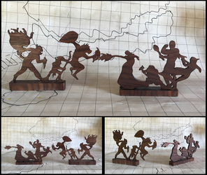 A Dungeons and Dragons Woodwork-Random Encounters by xofox