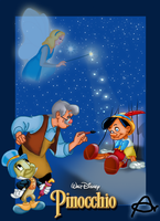 Pinocchio Movie Poster by Roo-Pooh