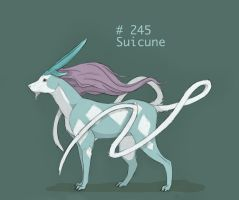 Realistic Suicune by obeythekiwi