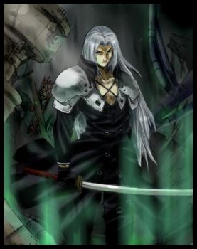 ::Sephiroth::---colored by meru-chan