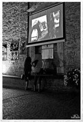 Two Girl Watching by passionefoto