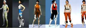 Evolution of Chell by XM94