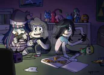 COMSH: Game Night by cappy-code