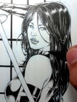 Psylocke Wip by Leomatos2014
