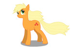 Applejack vector by DragonchildX