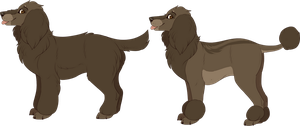 Brown Poodle Adoptable || CLOSED by Pinky-Poodle