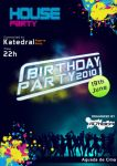 Flyer to a birthday party by TheDpStudio