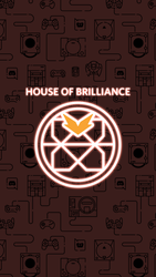 HypeSquad - House of Brilliance | Wallpaper Mobile by NaksuFR