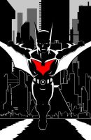 Batman Beyond Inks by thelearningcurv