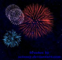 photoshop_brushes_3_Fireworks by setenay