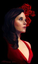 Red Rose by AlessiaPelonzi