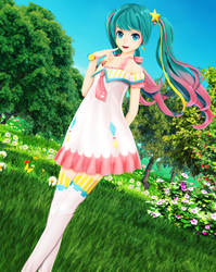 (MMD) Spring by mary34
