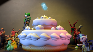 [SFM] Baking a giant cake by ZeFrenchM