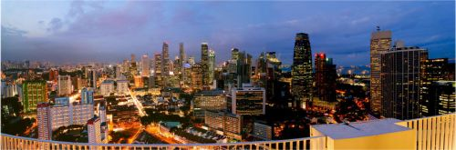 singapore panorama by clarenceangelo