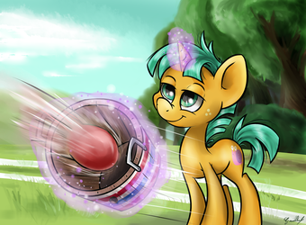 The totally unexpected Buckball champion by GaelleDragons