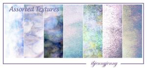 Assorted Textures by ibjennyjenny