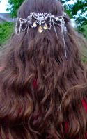 Bridal hairpiece - worn by EruwaedhielElleth