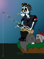 Fishing on the Styx by SpiketheKlown