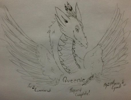 Request Complete: Queenie! by Scarletcat1