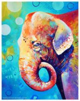 Elephant by TooMuchColor
