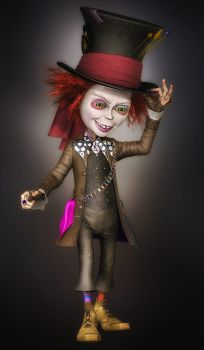 Mad Hatter by SuicideOmen