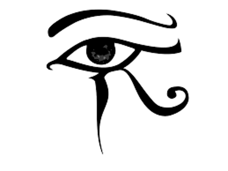 Egyptian Eye by ElectricRoseShade