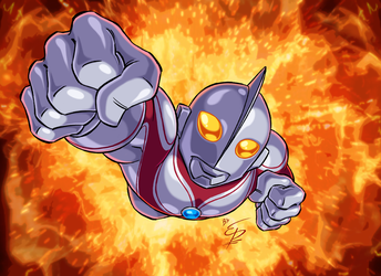 Ultraman Jack by eltonpot