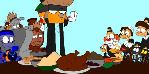 Thanksgiving Dinner by SammyD-Productions