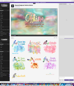 Twitch Channel Layout for AquaH2O by ciael