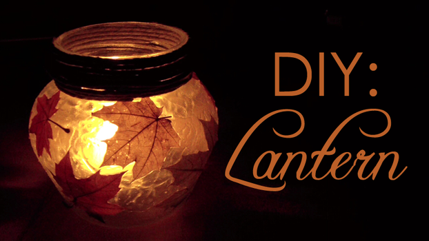 DIY: Autumn Lantern by Leviana