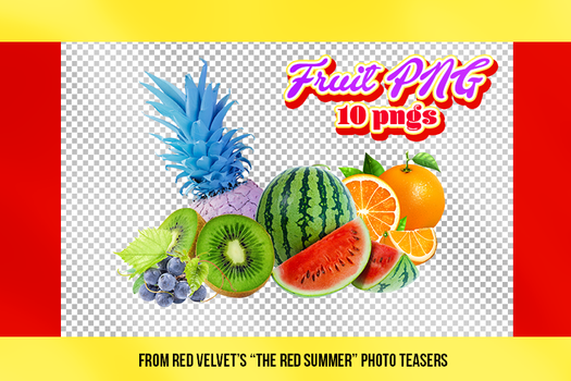 Fruit PNG (+The Red Summer - Red Velvet PNG) by ShoshiiAlex