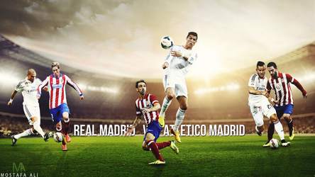 Real Madrid V Atletico Wallpaper 2014 2015 By Mostafarock