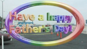 Generic Father's Day Greeting by vidthekid